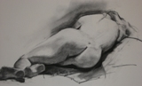 Drawings: Reclining Nude(Back)
